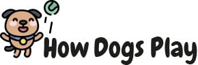 how dogs play logo